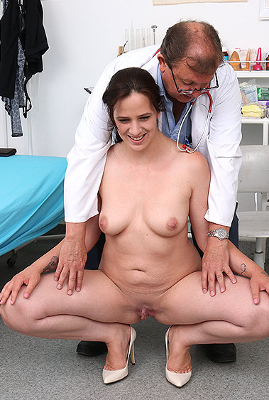 Alicia gyno pussy exam video HD