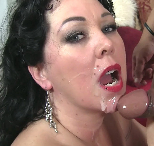 Making mistress shave cock