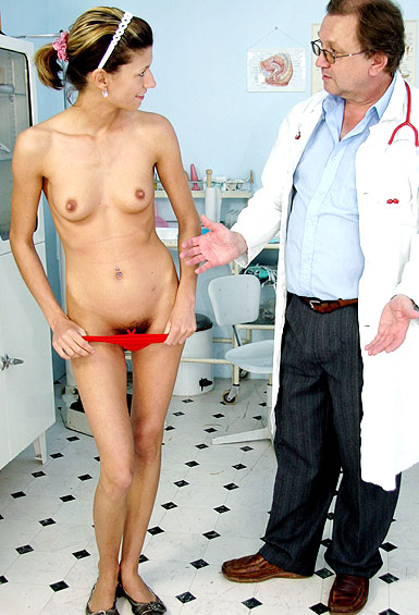 Amanda Vamp gyno pussy exam video HD