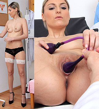 Tags: gyn, gynecology, doctor, extreme, exam, check up, pussy, vagina, close ups, up close, hospital, clinic, pussy spreader, pussy opener, blonde, pelvic, old and young