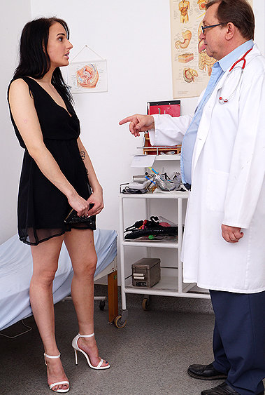 Angel Bay gyno pussy exam video HD