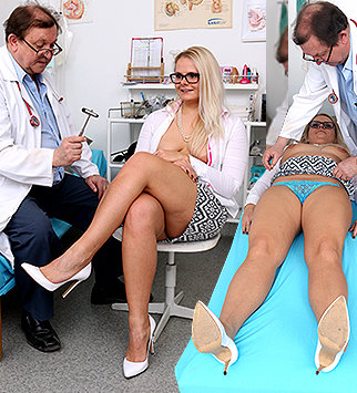 Tags: gyn, gynecological, medical, doctor, fetish, bizarre, vagina, enema, close ups, patient, pussy spreader, blonde, daddy, old and young, high heels, dirty doctor, obgyn, chubby, fucking machine