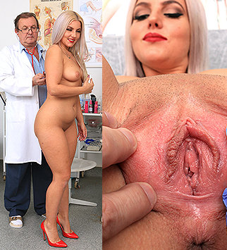 Tags: gyn, gynecological, gynecology, medical, doctor, bizarre, extreme, exam, pussy, vagina, hospital, clinic, speculum, palpation, blonde, curvy, dirty doctor, chubby, hot legs, doctor patient, reality