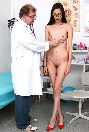 Ashley Ocean gyno pussy exam video HD