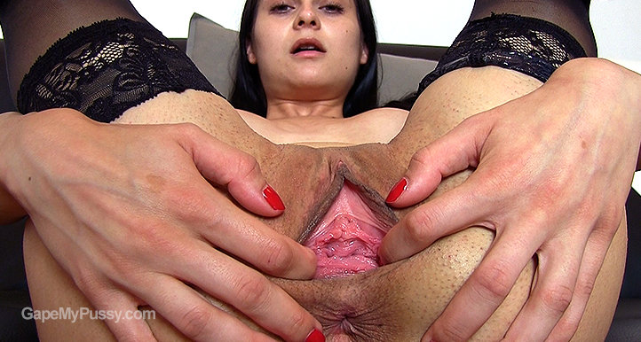 Ashley Woods pussy gape HD video