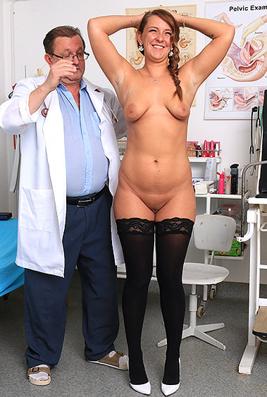 Aurora gyno pussy exam video HD