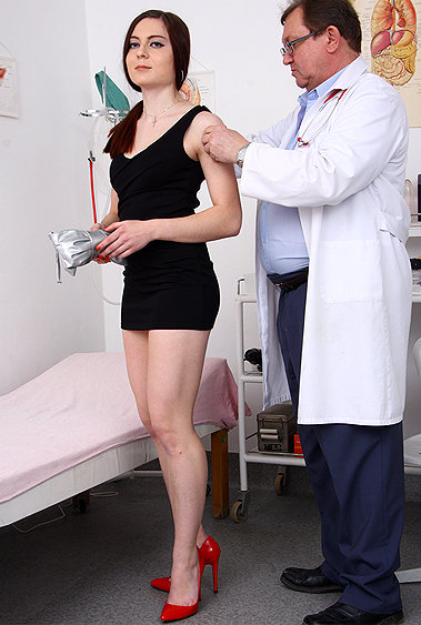 Cara gyno pussy exam video HD