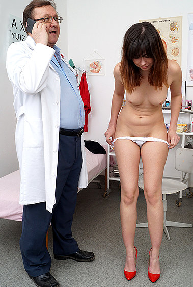 Christina gyno pussy exam video HD