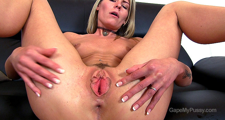 Claudia Mac pussy gape HD video