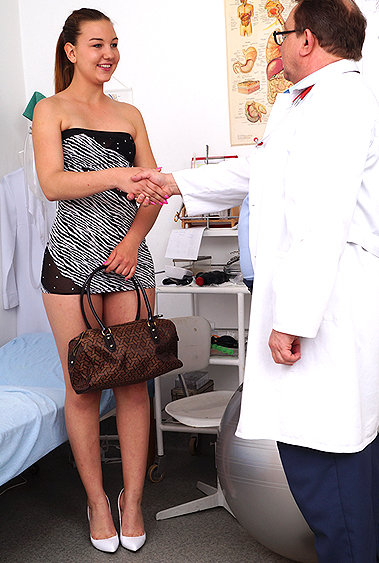 Dominica gyno pussy exam video HD