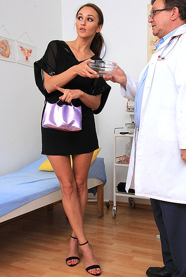 Donna Joe gyno pussy exam video HD