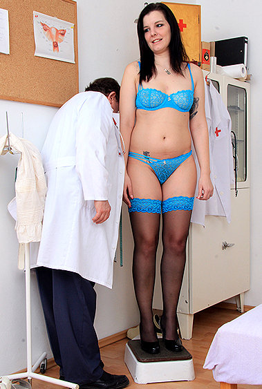 Edna gyno pussy exam video HD