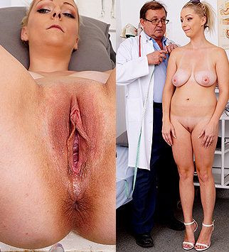 Tags: gyn, gynecological, gynecology, medical, doctor, fetish, bizarre, extreme, exam, pussy, vagina, up close, clinic, palpation, internal pussy, blonde, pelvic exam, physical exam, daddy, old and young, natural tits, dirty do