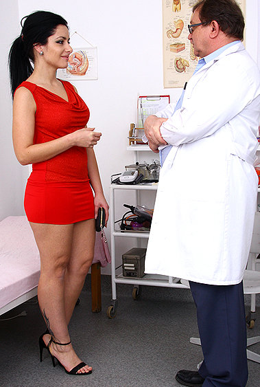 Erica gyno pussy exam video HD