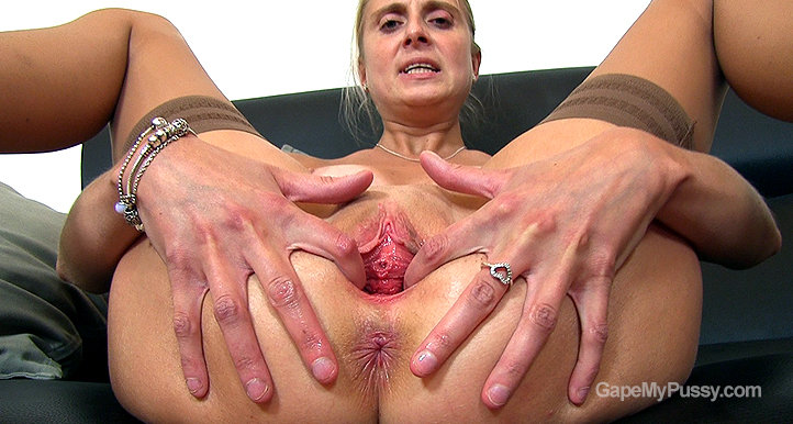 Eugenia pussy gape HD video