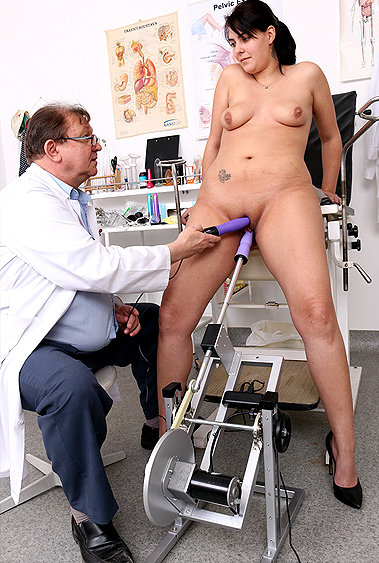 Gabi gyno pussy exam video HD