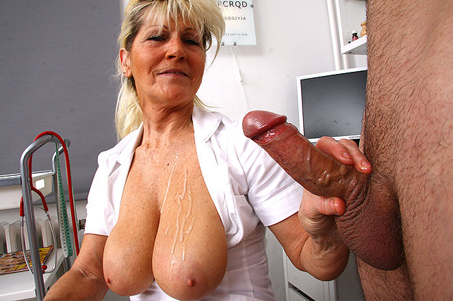 Well. mature cfnm handjob cum