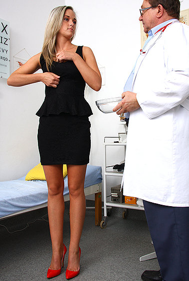 Henrietta gyno pussy exam video HD