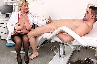 Sperm sample nurse took a The