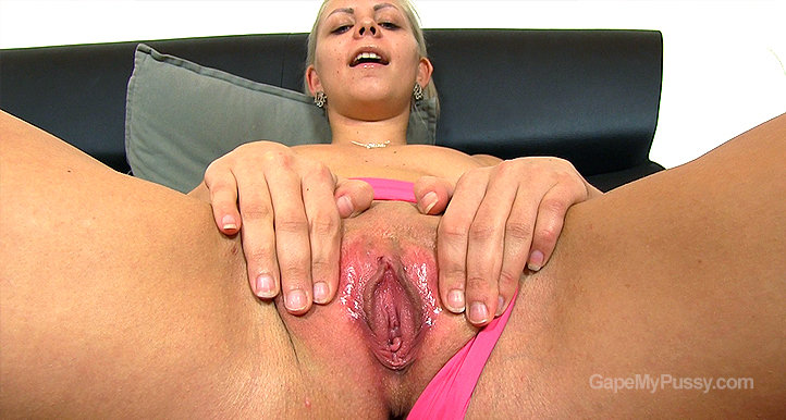 Julia Parker pussy gape HD video