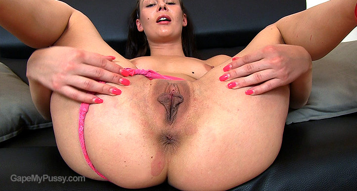 Kara Rose pussy gape HD video