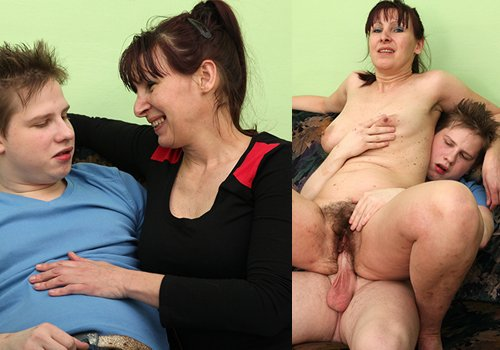 Mature fucking young stud on realwives69 com