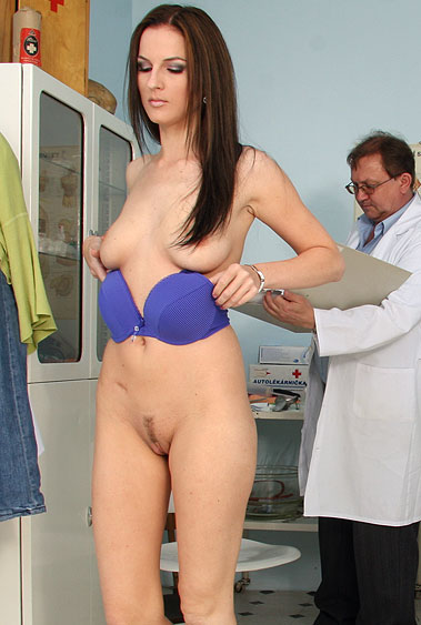Katie Cox gyno pussy exam video HD