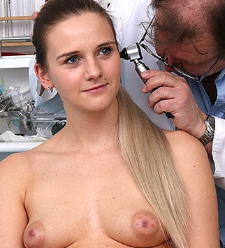 Tags: gyn, gyno, gynecological, gynecology, medical, doctor, pussy, enema, douche, clinic, patient, pussy spreader, pussy opener, blonde, pelvic exam, role play, daddy, old and young, dirty doctor