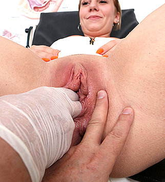 Tags: gyn, gyno, gynecological, gynecology, medical, doctor, bizarre, exam, pussy, hospital, clinic, cervix, pussy spreader, role play, daddy, old and young, fucking machine, doctor patient, reality