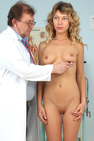 Kristy Lust gyno pussy exam video HD