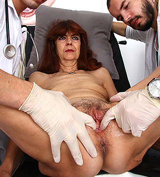 Tags: gyno, gynecology, medical, doctor, bizarre, extreme, pussy, vagina, close ups, speculum, specula, redhead, skinny, role play, old and young, high heels, hairy, hirsute, dirty doctor, obgyn, granny, grandma, gilf