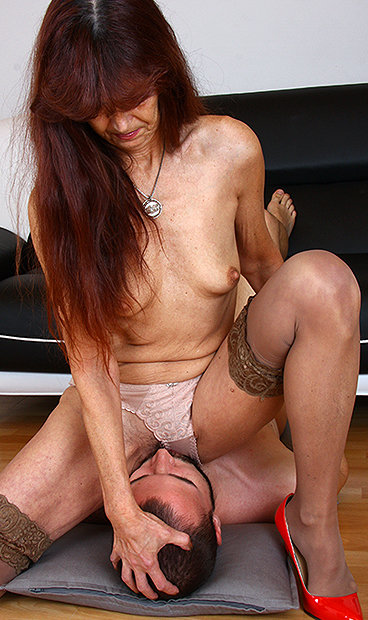 Share your hottest matures smother above
