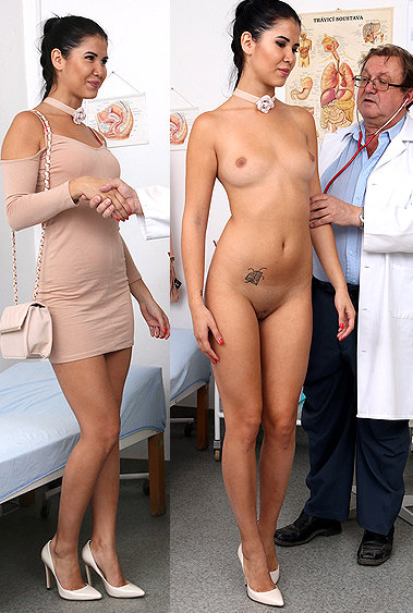 Lady Dee pussy exam video HD
