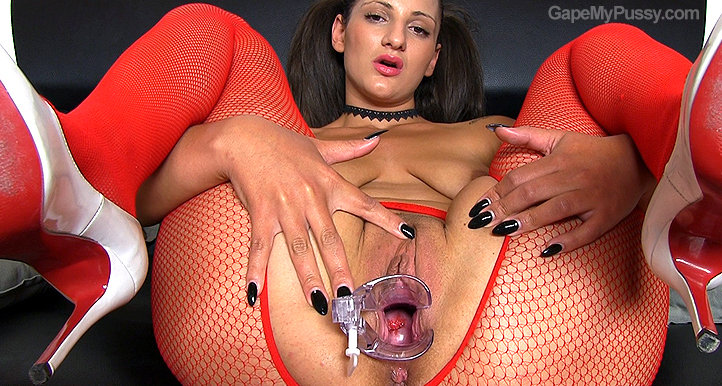 Laura Noirett pussy gape HD video