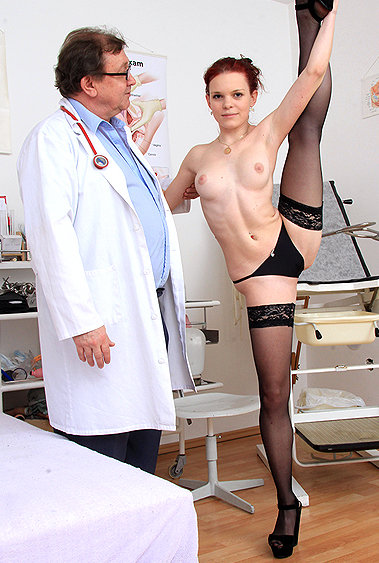 Lea gyno pussy exam video HD