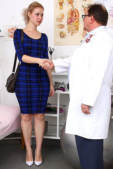 Lilya gyno pussy exam video HD