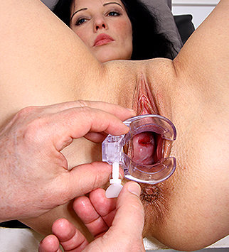 Tags: gyn, gyno, gynecology, doctor, bizarre, check up, vagina, enema, douche, close ups, clinic, speculum, specula, open pussy, pussy spreader, pelvic exam, old and young, high heels