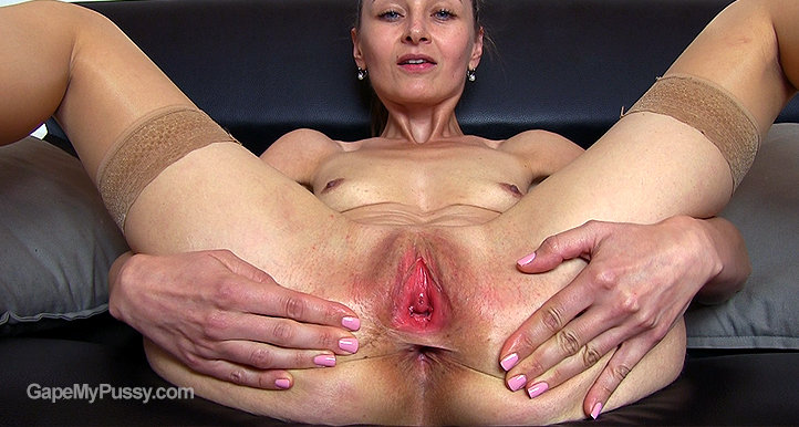 Luca Bella pussy gape HD video