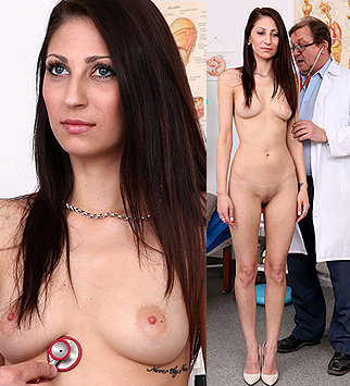 Tags: gyn, gynecological, gynecology, doctor, pussy, enema, hospital, clinic, speculum, cervix, brunette, daddy, old and young, dirty doctor, obgyn, hot legs, fucking machine