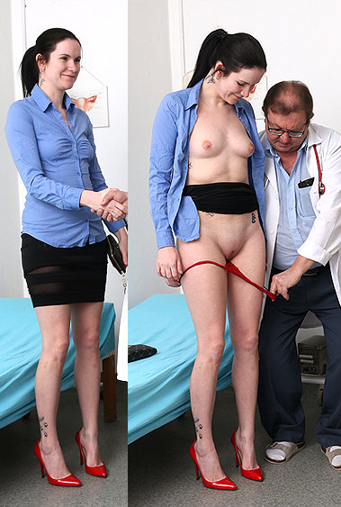Marietta gyno pussy exam video HD