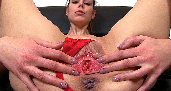 Marisa pussy gape HD video