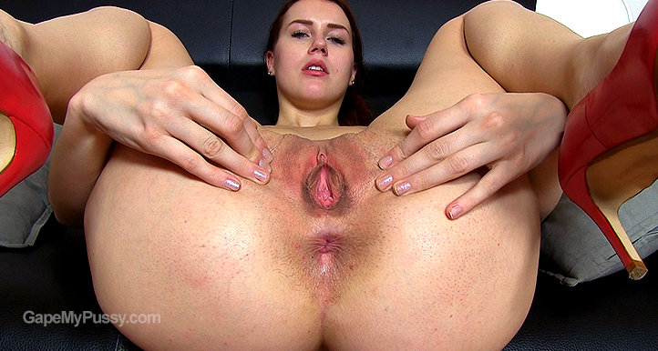Mimi pussy gape HD video