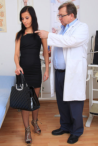 Nathali Sweet gyno pussy exam video HD