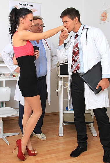 Nathaly Heaven gyno pussy exam video HD