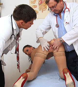 Tags: gyno, gynecological, doctor, bizarre, exam, vagina, douche, up close, hospital, clinic, specula, internal pussy, role play, physical exam