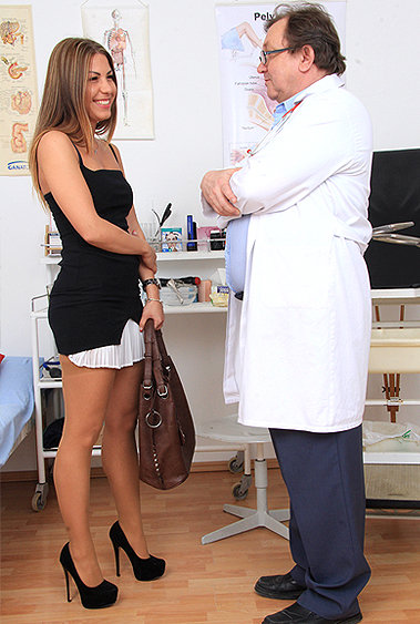 Patricia gyno pussy exam video HD