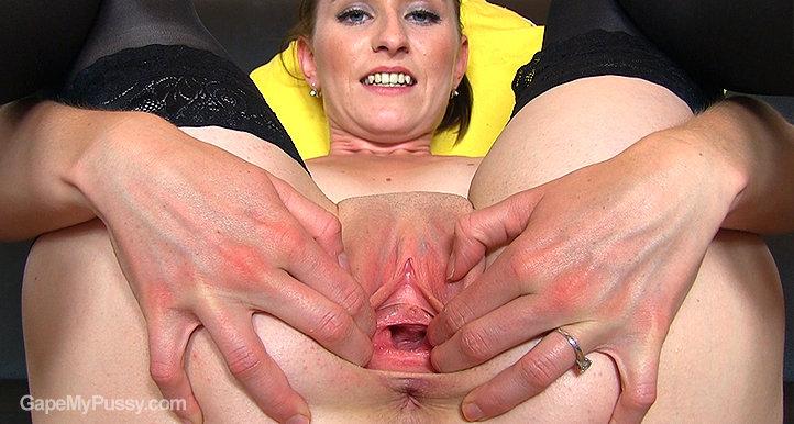 Regina pussy gape HD video
