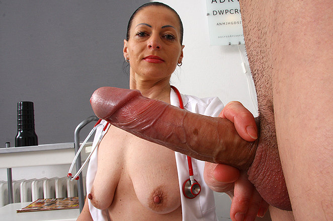 Black doctor and sex milf patient