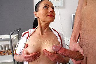 Doc His Patients Blowing Jerking Cocks