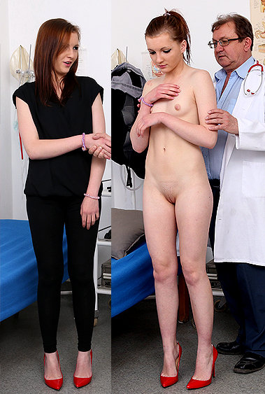Romi gyno pussy exam video HD